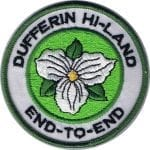 Dufferin Hi-Land End to End Badge