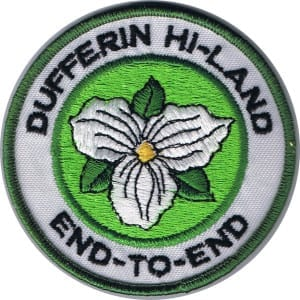Dufferin Hi-Land Bruce Trail Club Badges