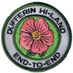 Pink Rose End-To-End Badge
