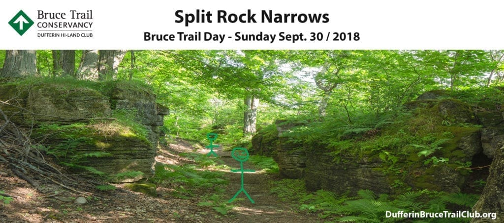 Dufferin Hi-Land Bruce Trail Day 2018 Front