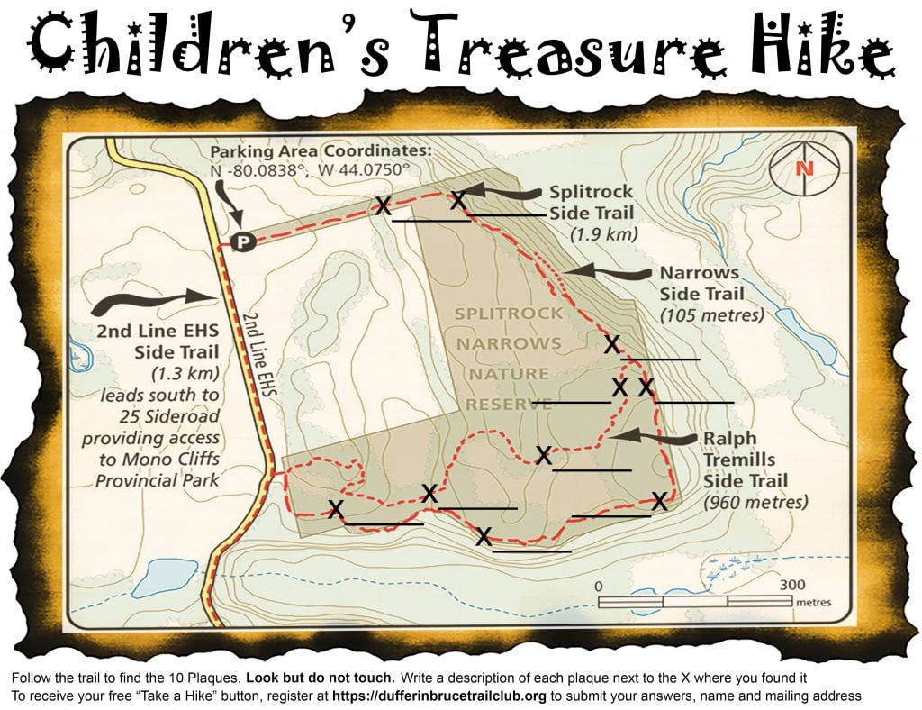Children's Treasure Hike Map
